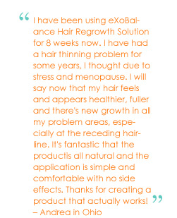 Hair Growth Product Testimonial
